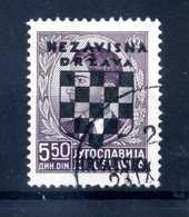1941 CROAZIA N.17 USATO - Croazia