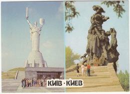Kiev - The Motherland Monument & The Baby Yar - Monuments 1941-1945 - (Ukrain) - Oekraïne