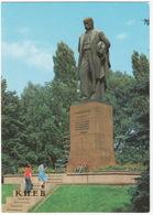 Kiev - Monument To Taras Shevchenko - (Ukrain) - Oekraïne