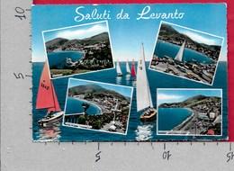CARTOLINA VG ITALIA - Saluti Da LEVANTO (SP) - Vedutine Multivue - 10 X 15 - ANN. 1957 - Saluti Da.../ Gruss Aus...
