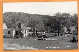 Brnason MO 1940 Real Photo Postcard - Branson