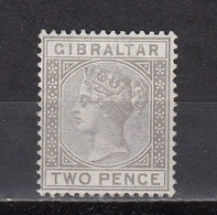 Gibraltar - Queen VICTORIA 1886 (?) MNH  - 2p GRAY (!!!???) - Gibraltar