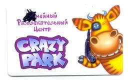 Russia Crazy Park Centre De Divertissement - Casino Cards