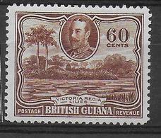 BRITISH GUIANA - YVERT N°151 * MH - COTE = 60 EUR. - Guyane Britannique (...-1966)