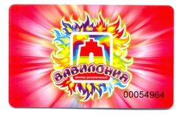 Russia Vavilonia Centre De Divertissement - Casino Cards