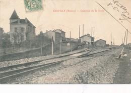 CPA - France - (69) Rhône - Lentilly - Quartier De La Gare - France