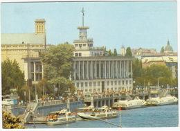 Kiev - PASSENGERSHIPS, River Cruise - River Port Building - (Ukrain) - Oekraïne