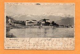Baveno 1904 Postcard - Italië