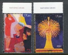 UN Geneva 2013. Michel # 832-833, MNH ** - Nuevos