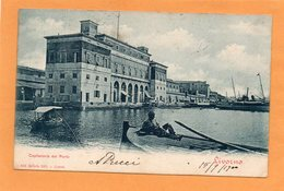 Livorno 1900 Postcard - Livorno