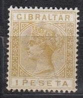Gibraltar - Queen VICTORIA 1889 MNH - Gibraltar