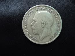 ROYAUME UNI : 1/2 CROWN   1928     KM 835        TTB - 1902-1971 : Monnaies Post-Victoriennes