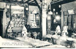 N°66978 -cpa Le Havre -hôtel Des Négociants- Rue Corneille- - Hotels & Gaststätten