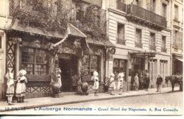 N°66979 -cpa Le Havre -hôtel Des Négociants- Rue Corneille-l'auberge Normande- - Hotels & Restaurants