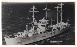 H M S Boxer - Landing Ship - Real Photo - R A Fisk - Unused - Warships