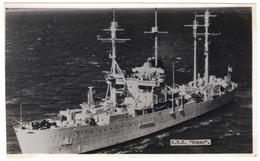 H M S Boxer - Landing Ship - Real Photo - R A Fisk - Unused - Oorlog