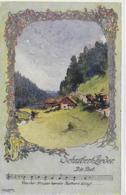 AK 0087  Schubert-Lieder - Die Post / Künstlerkarte V. O. Elsner Um 1910-20 - Music And Musicians