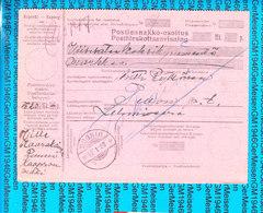Finland Postal Stationery / Cash On Delivery 12.01.1928 - Finlande
