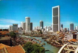 1 AK Singapur * Singapore River And Commercial Centre Of Singapore * - Singapour