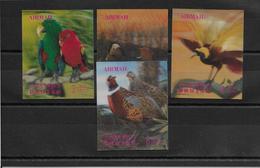 Bhoutan Poste Aérienne N°54/57 - Oiseaux - Neufs ** Sans Charnière - TB - Bhutan