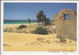 CABO VERDE IMAGENS  ILHA DA VOAVISTA PRAIA CHAVES   NICE STAMP  LARGE FORMAT - Capo Verde