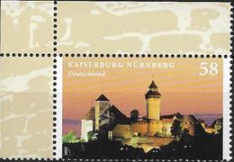2013 Deutschland Allem. Fed.   Mi. 2973**MNH  EOL Kaiserburg Nürnberg Mit Sinwellturm - BRD