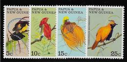Papouasie Nouvelle Guinée N°174/177 - Oiseaux - Neufs ** Sans Charnière - TB - Papouasie-Nouvelle-Guinée