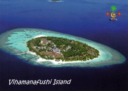 1 AK Malediven * Blick Auf Die Insel Vihamanafushi (auch Bekannt Als Kurumba) Eine Insel Im Nord-Malé-Atoll - Maldives