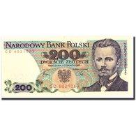 Billet, Pologne, 200 Zlotych, 1982, 1982-06-01, KM:144b, TTB+ - Pologne