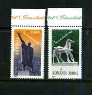Roumanie Y&T 4816/17 Mi 5863/64  ** - 1948-.... Républiques