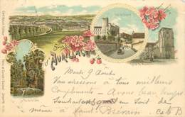 "CPA FRANCE 15 ""Aurillac / GRUSS / CARTE PRÉCURSEUR 1896 - Aurillac"