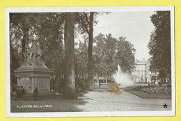 * Brussel - Bruxelles - Brussels * (Marque Etoile, Nr 4) Le Parc, Park, Statue, Anges, Angel, Fontaine, Photo, Rare - Brussels (City)