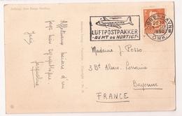 Dinamarca, 1950 Luftpostpakker - Covers & Documents