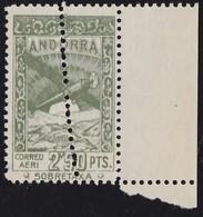 1932. PAISAJES. 2,50 PTAS. DOBLE DENTADO VERTICAL. - Andorra Española