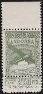 1932. PAISAJES. 2,50 PTAS. DOBLE DENTADO HORIZONTAL. (NE21) - Andorra Española