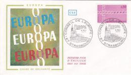 ENVELOPPE - Carte - 1er Jour - Conseil De L'Europe - France