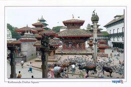 1 AK Nepal * Königsplatz (Durbar Square) In Der Hauptstadt Kathmandu - Seit 1979 Weltkulturerbe Der UNESCO * - Nepal