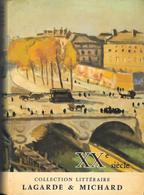 XXème Siècle-Lagarde Et Michard 1965--BE - Livres, BD, Revues