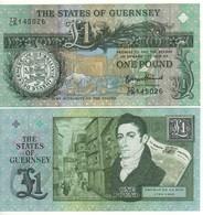 GUERNSEY    £ 1  (Commemorative Issue  Thomas De La Rue  2013)  P62 - Guernesey