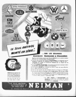 "PUB   "" NEIMAN ""   1951 - Transports"