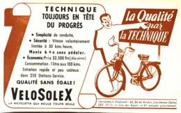 "PUB   "" VELOSOLEX ""   1951 ( 3 ) - Transports"
