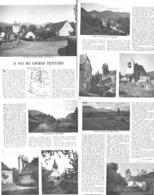 AU PAYS DES CLOCHERS TRINITAIRES ( LA SOULE ) MENDITTE/TARDETS /EGLISE De GOTEIN-IDAUX-LIBARRENX/ST ETIENNE SAUGIS 1951 - Pays Basque