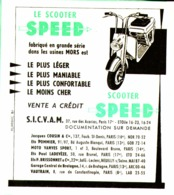 """PUB  SCOOTER  """" SPEED  """"  1952 ( 1 ) - Transports"""