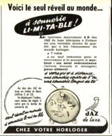 """PUB  REVEIL  """" JAZ  """"  1952 ( 1 ) - Autres"""