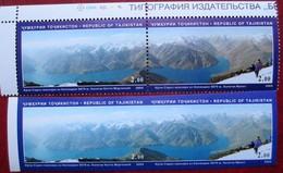 Tajikistan  2005  Mountains. Water For Life  IMPERFORATED  + Perfor.  2v  X 2  MNH - Tadjikistan