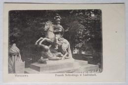 Warszawa, Pomnik Sobieskiego W Lazienkach, Sobieski, Lazienki, Union Postale Universelle - Pologne