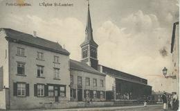 PETIT-COURCELLES : L'Eglise St-Lambert - RARE CPA - Courcelles