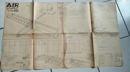 Avion - Plan  De Modèle Réduit D'avion - AIR SPORT TYPE 00S - Planches & Plans Techniques