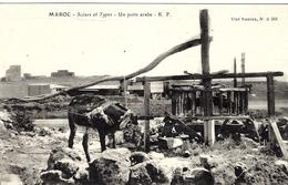 MAROC - Un Puits Arabe -,  Ed. K.F. - Cultures