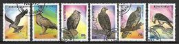 KIRGHIZSTAN     -   1995  .   Y&T N° 51 à 57 Oblitérés.  Oiseaux  Rapaces .    Série Complète. - Kirghizistan